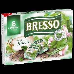 Bresso Produkt packshot Portionen Feine Kräuter