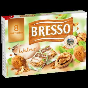Bresso Produkt packshot Portionen Walnuss