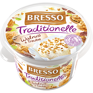 Bresso Produkt packshot Traditionelle Walnuss Traube