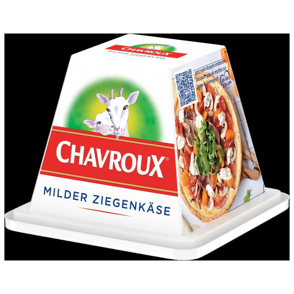 Chavroux packshot Pyramide Frischkäse Natur