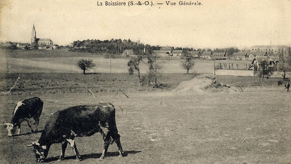 Historische Ansicht der Ferme de la Tremblaye