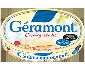 Géramont Produkte packshot cremig leicht
