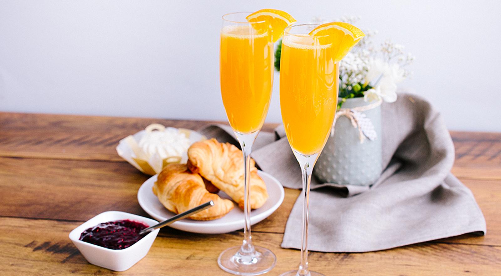 Blogger Beitrag Getränke Brunch Mimosa