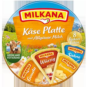 Milkana Runddose Käse Platte packshot