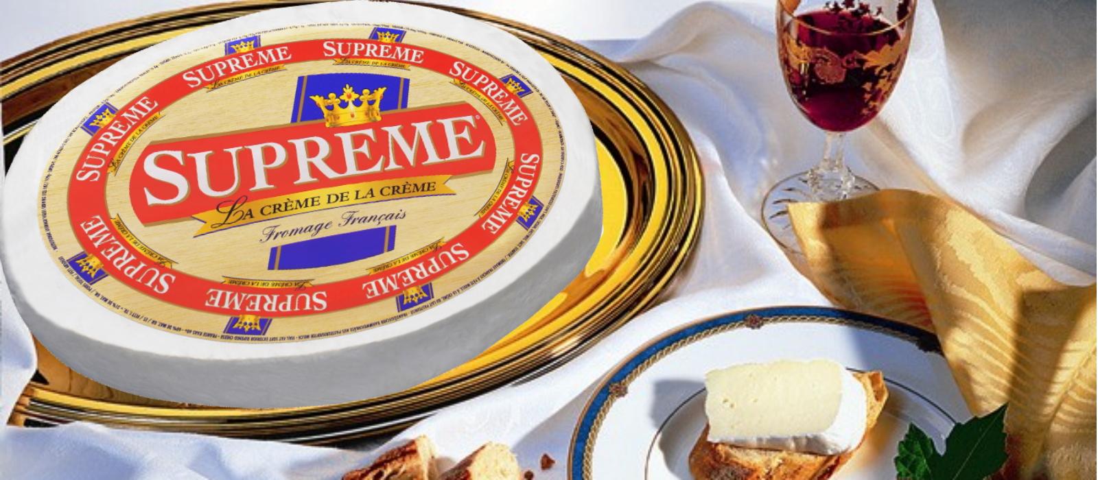 Suprême französischer Weichkäse Produkt-Header