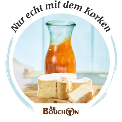 Käsebegleiter: Au Bouchon Käse mit Physalis-Senf