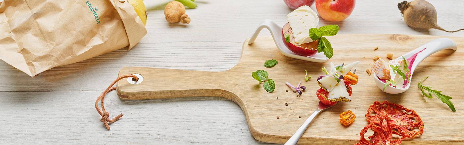 Amuse Bouches - Käse & Gemüse