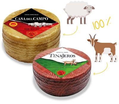 Casa del Campo & Tinajeros Queso de Cabra
