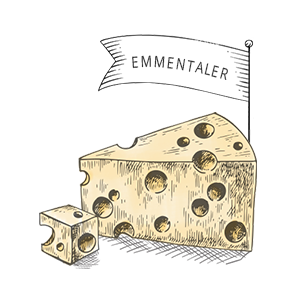 Käsesorten: Emmentaler