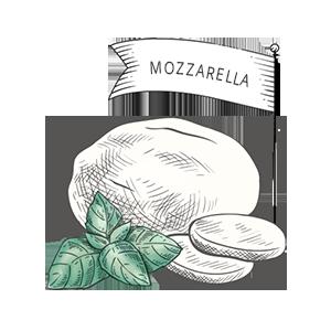 Käsesorten: Mozzarella