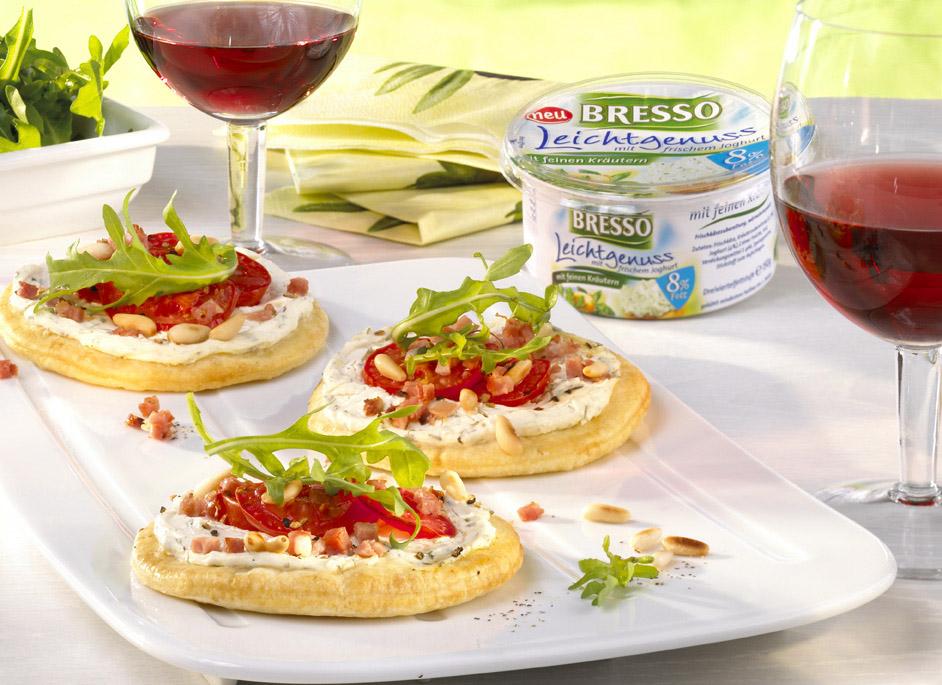 Mini-Pizza Provenςale - leckere Rezeptidee