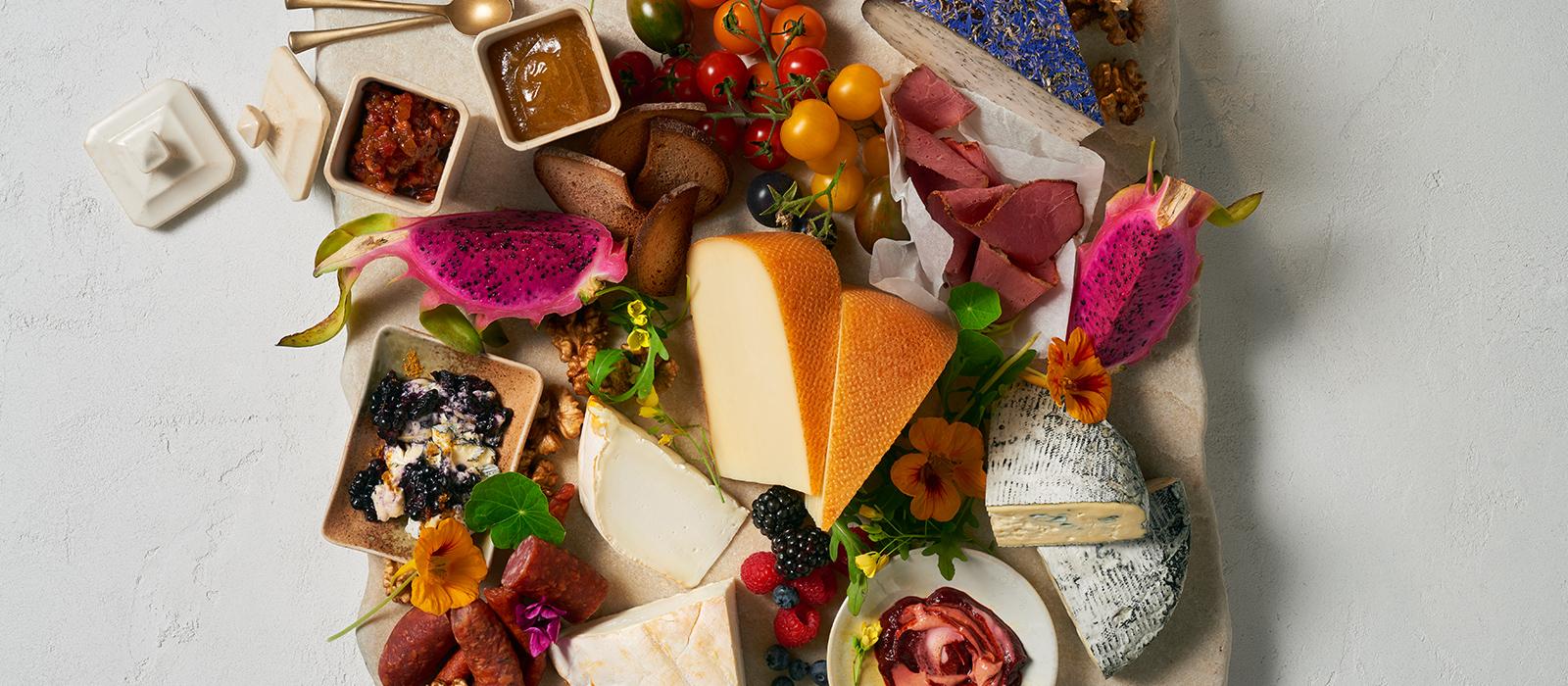 Buntes Foodboard
