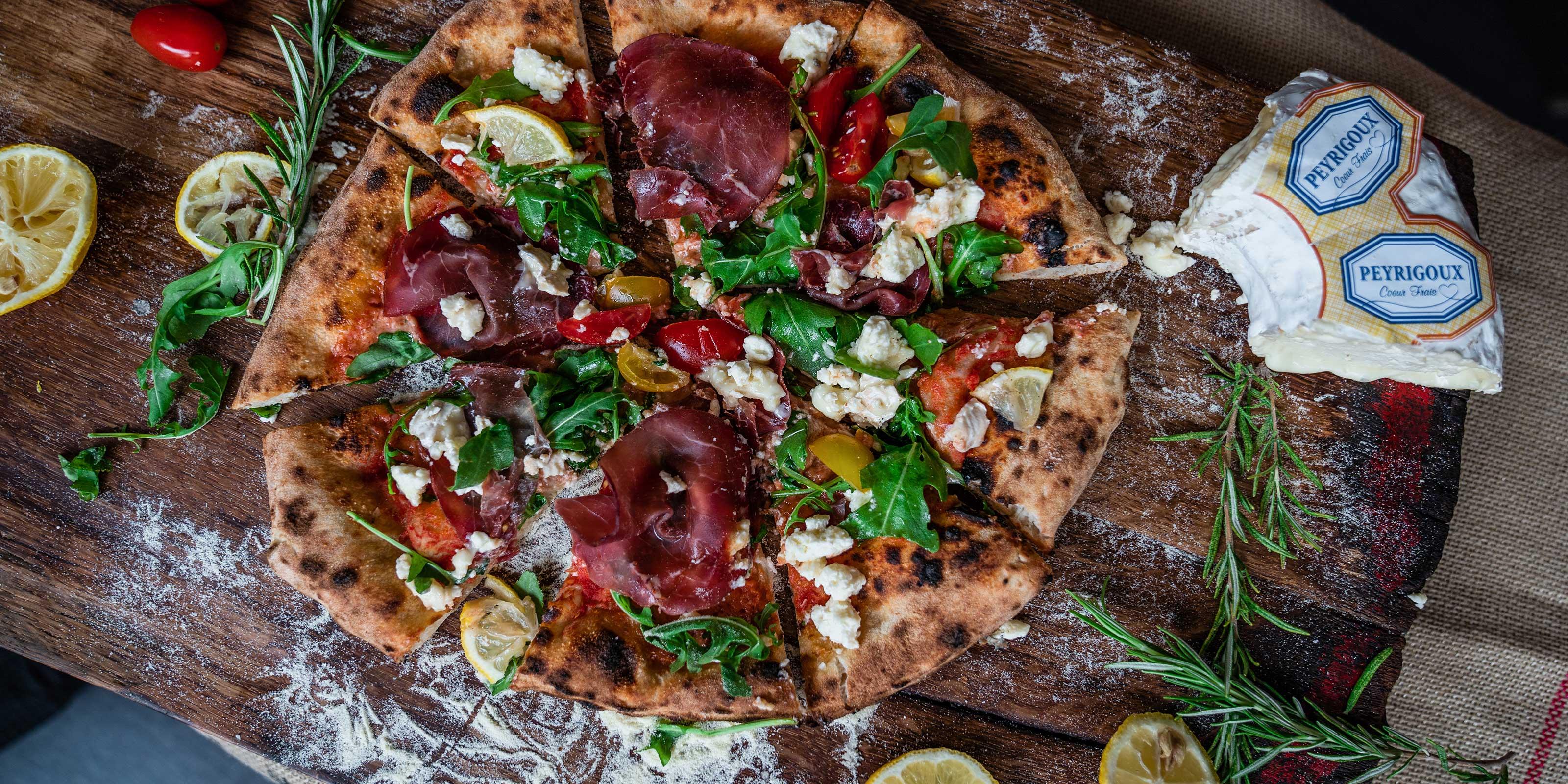 Rezept für original italienische Pizza Bresaola
