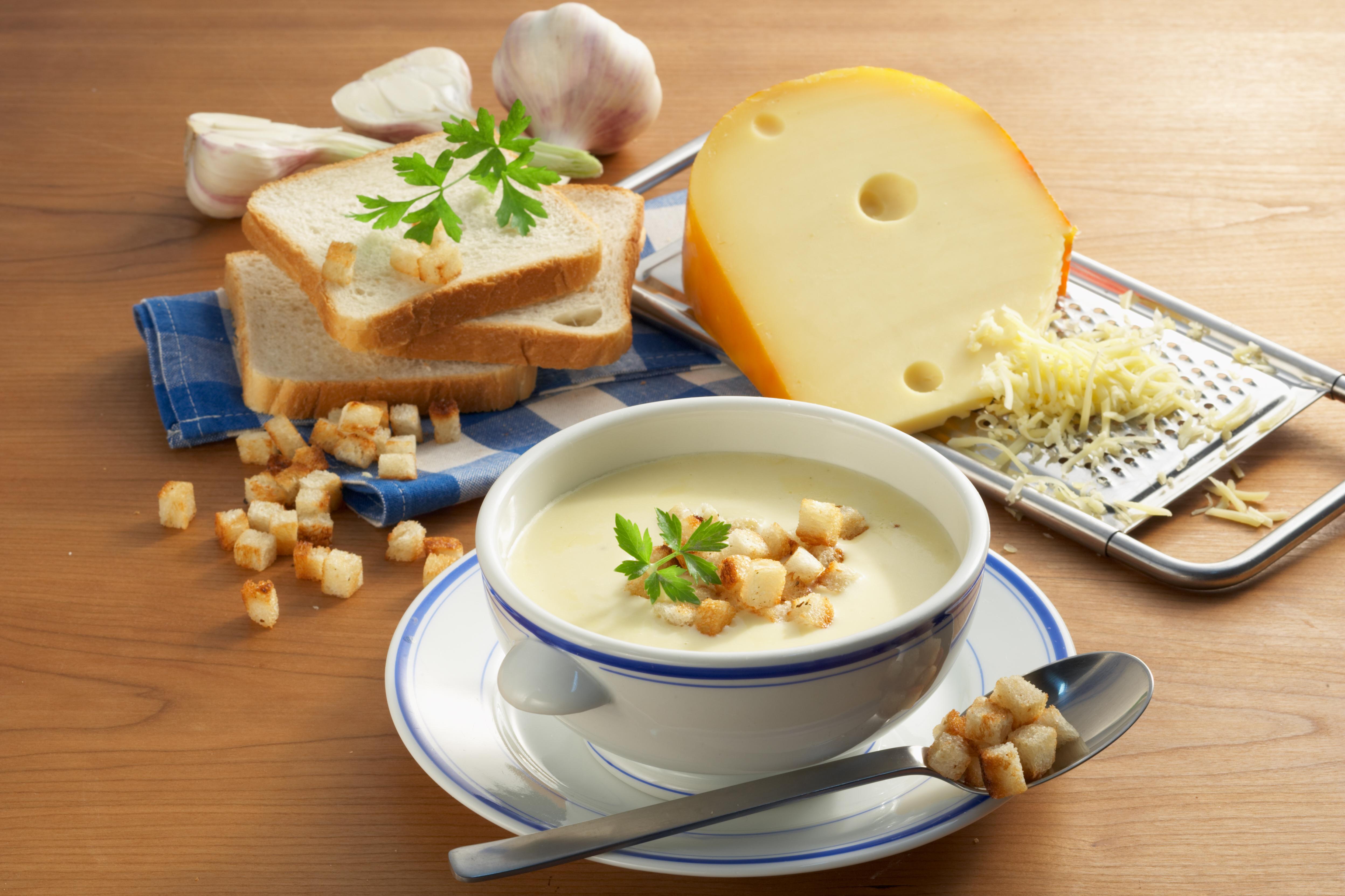 Feine Käsesuppe - leckere Rezeptidee