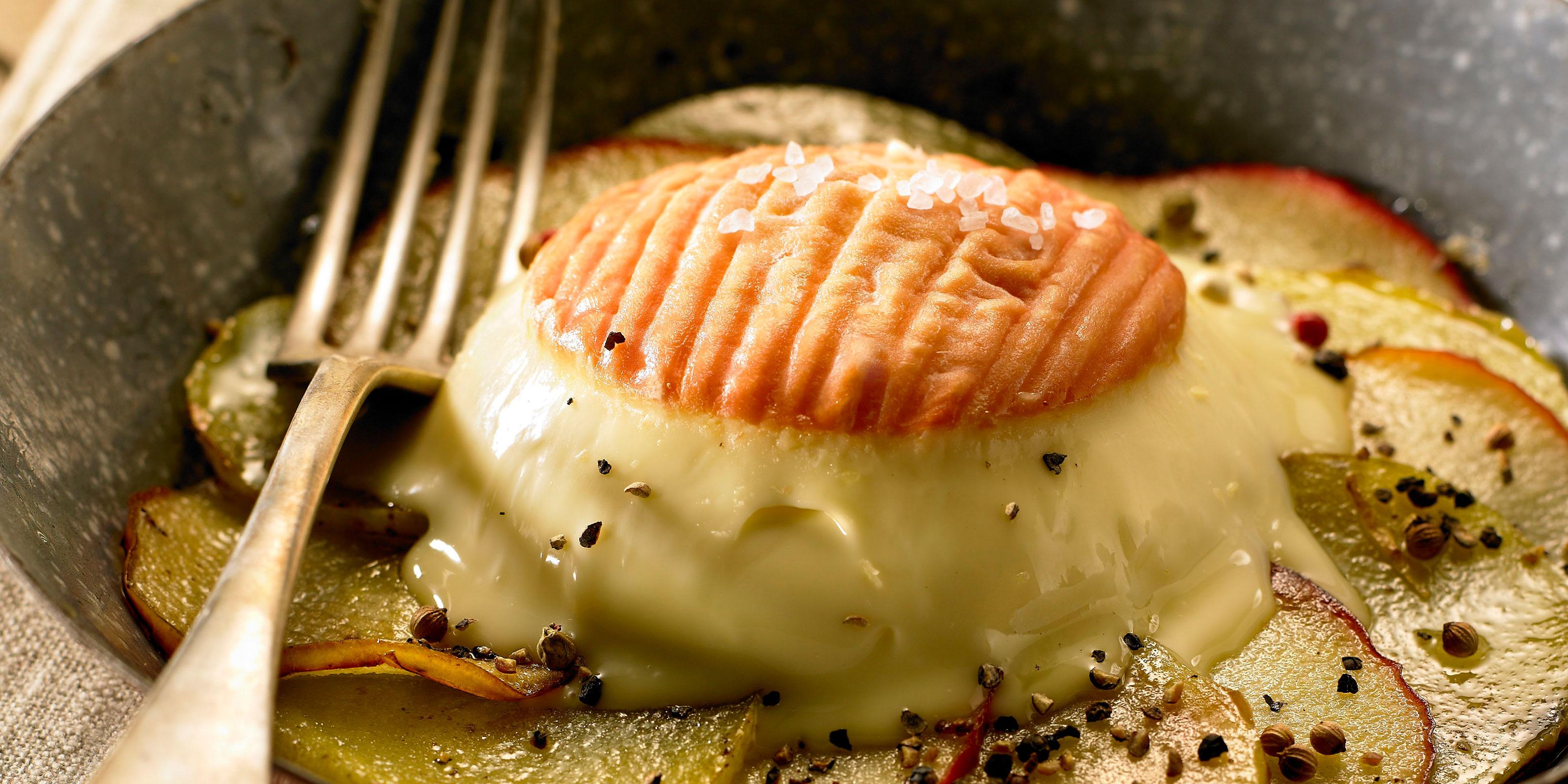 Rezept für Apfel-Kartoffel Galette mit Berthaut Epoisses