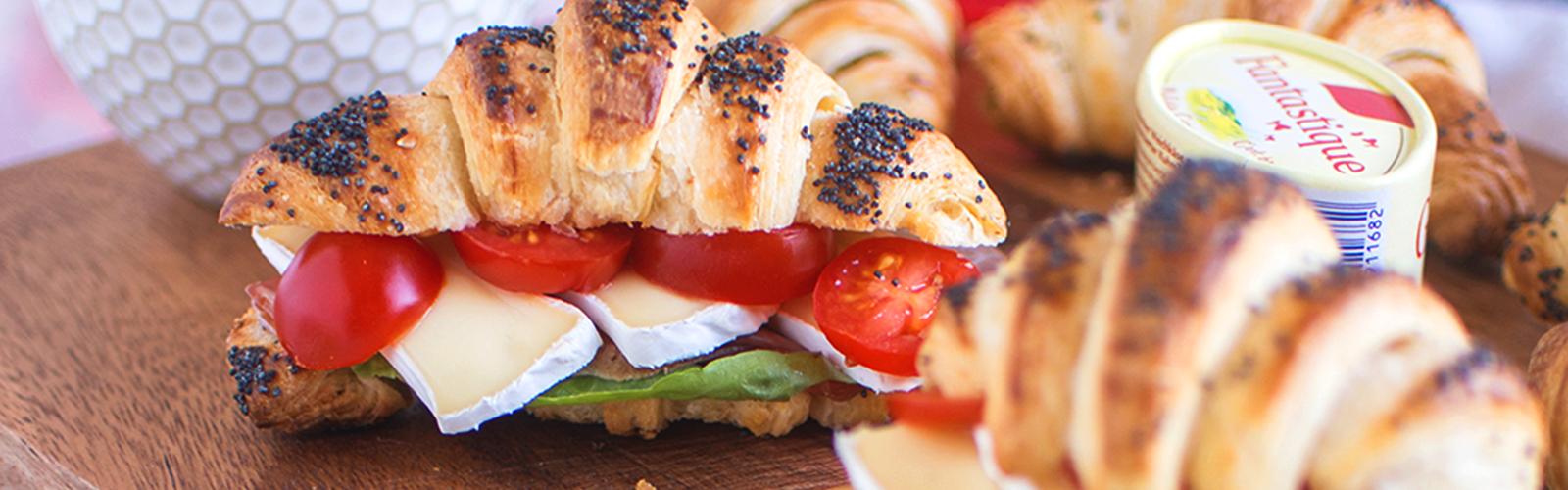 """Knusprige Croissant-Sandwiches von """"Das Knusperstübchen"""""""